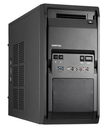 Корпуса CHIEFTEC Libra LT-01B.с БП GPA-450S 450Вт.1xUSB.mATX, производитель Chieftec Industrial Co., Ltd. (Тайвань) - фото №1
