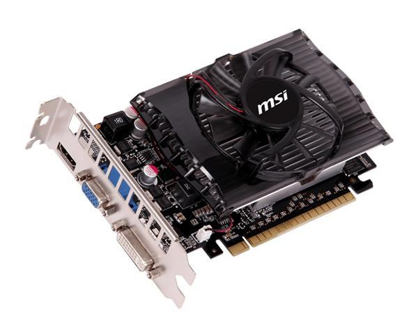 Видеокарты Видеокарта MSI Gece GT730 2GB DDR3, производитель Micro-Star International Co., Ltd (MSI) (Тайвань) - фото №1