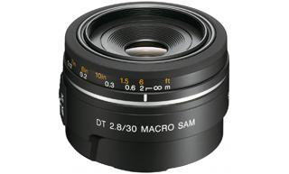 Объективы Объектив Sony 30mm f-2.8 SAM, производитель Sony Corporation (Япония) - фото №1
