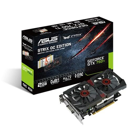 Видеокарты ASUS GeForce GTX750Ti 2GB DDR5 Overclocked STIX, производитель ASUSTeK Computer Inc. (Тайвань) - фото №1
