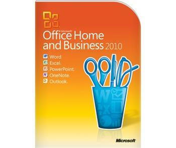 Разное ПО Microsoft Office Home and Business 2010 32-bit-x64 Ua BOX, производитель Microsoft Corporation (США) - фото №1