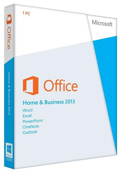 Разное ПО Microsoft Office Home and Business 2013 32-64 Ru DVD, производитель Microsoft Corporation (США) - фото №1
