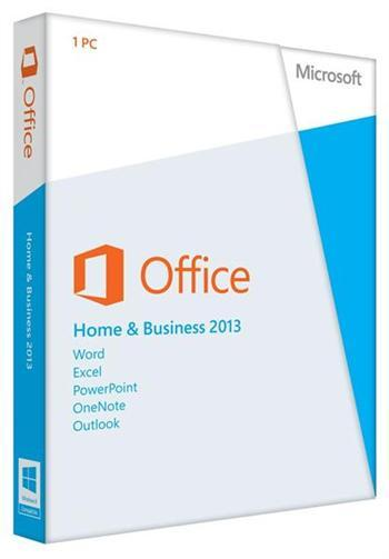 Разное ПО Microsoft Office Home and Business 2013 32-64 Ua DVD, производитель Microsoft Corporation (США) - фото №1