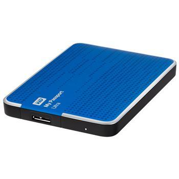Компьютерная техника НЖМД WD 2.5 USB 2TB 5400rpm My Passport Ultra Blue, производитель Western Digital (WD, США) - фото №1