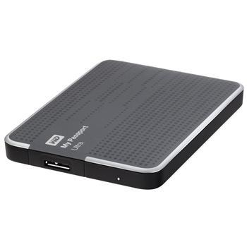 Жесткие диски WD 2.5 USB 0.5TB 5400rpm My Passport Ultra Titanium, производитель Western Digital (WD, США) - фото №1