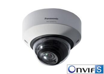 IP-Камера IP-Камера Panasonic Dome 1280x720 60fsp SD IR LED PoE, производитель Panasonic Corporation (Япония) - фото №1