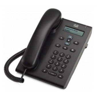 VoIP оборудование Cisco UC Phone 3905 SIP Charcoal Standard Handset, производитель Cisco Systems, Inc. (США) - фото №1