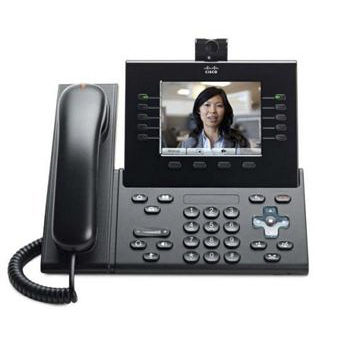 VoIP оборудование Cisco UC Phone 9951 Charcoal Std Hndst with Camera, производитель Cisco Systems, Inc. (США) - фото №1