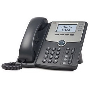 VoIP оборудование Cisco SB SPA504G 4 Line IP Phone, производитель Cisco Systems, Inc. (США) - фото №1