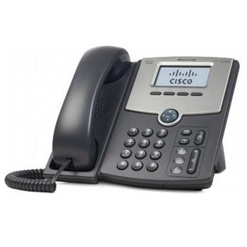 VoIP оборудование Cisco SB SPA512G 1 Line IP Phone, производитель Cisco Systems, Inc. (США) - фото №1