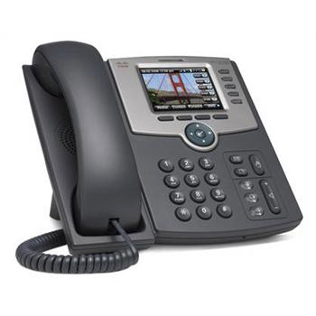 VoIP оборудование Cisco SB SPA525G 5-Line IP Phone with Color Display PoE, производитель Cisco Systems, Inc. (США) - фото №1