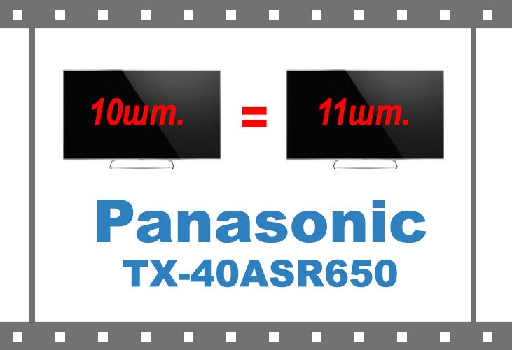 Телевизоров Panasonic TX-40ASR650 в подарок