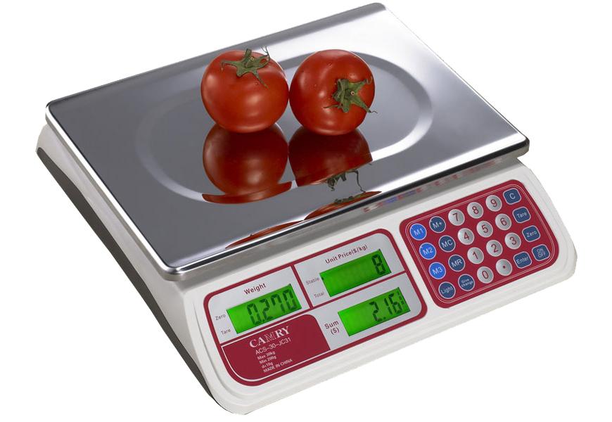 Как пользоваться торговыми весами