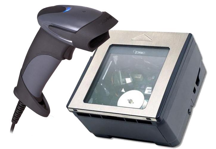 Сканер штрих кода легок в использовании
