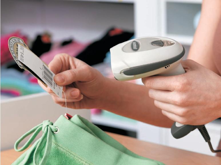 Использование сканера штрих кода в розничной торговле